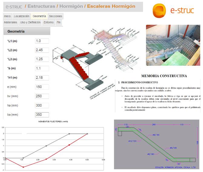 e-struc aplicación de ayuda al cálculo de estructuras