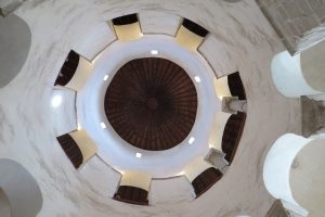 Construcción de la iglesia de San Donato. Zadar romano y medieval