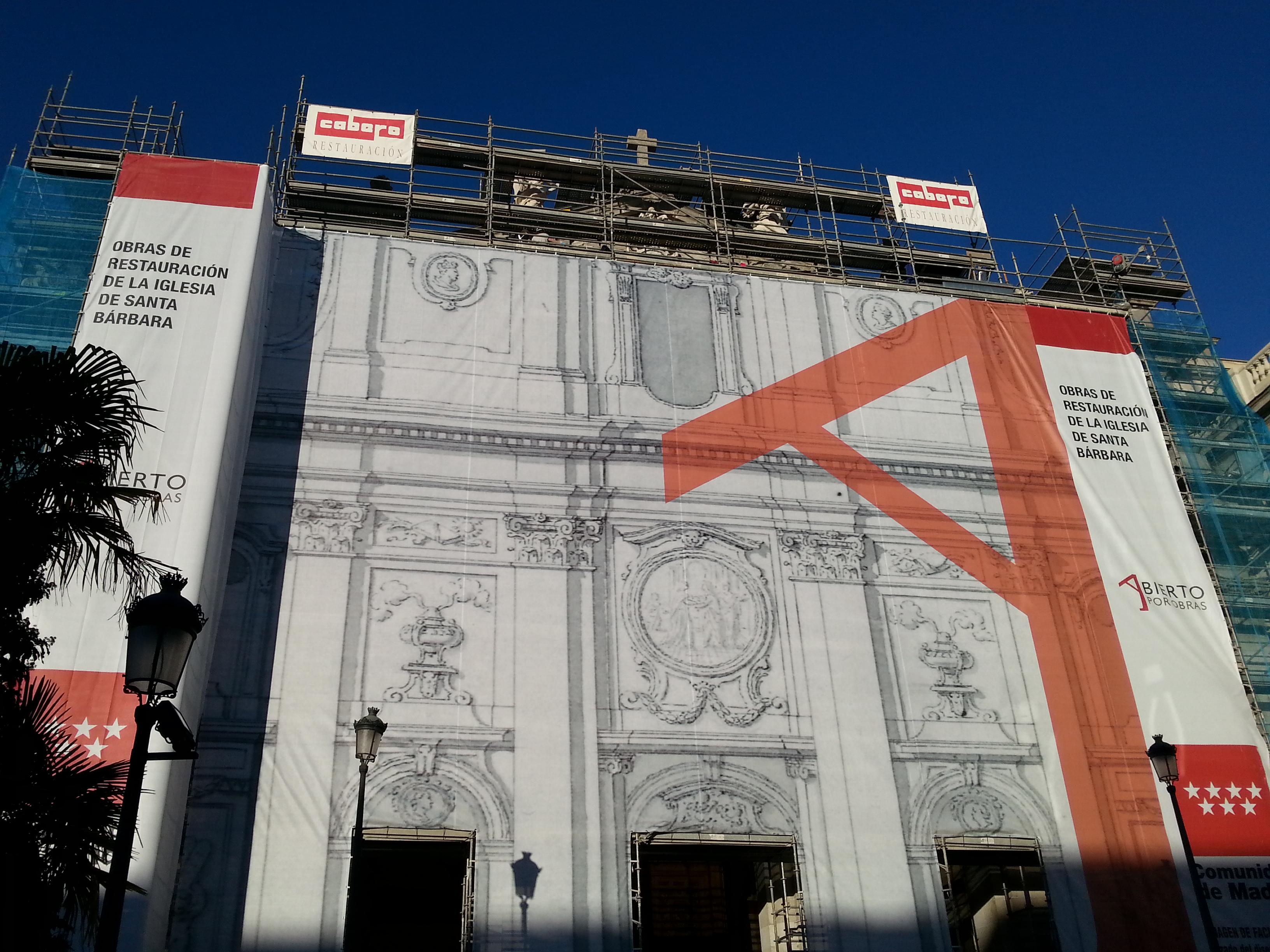 Rehabilitación de Santa Bárbara en Madrid