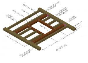 Diseño, cálculo y construcción de brochales