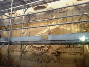 Rehabilitación de la fachada de la Universidad de Alcalá