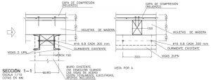 Proyecto de rehabilitación de un edificio de estructura de madera. II