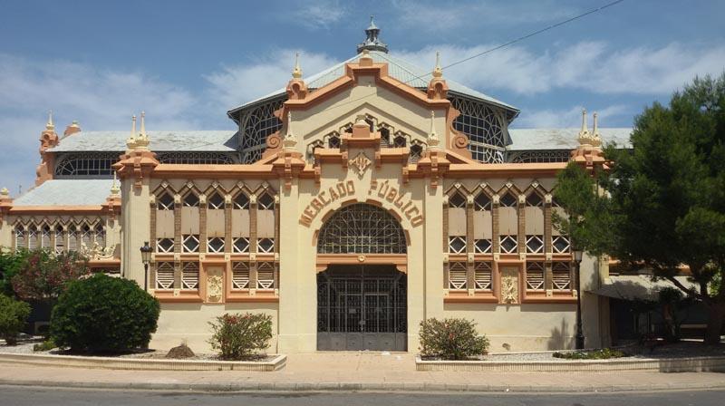 Modernismo en La Unión. Mercado de Víctor Beltrí
