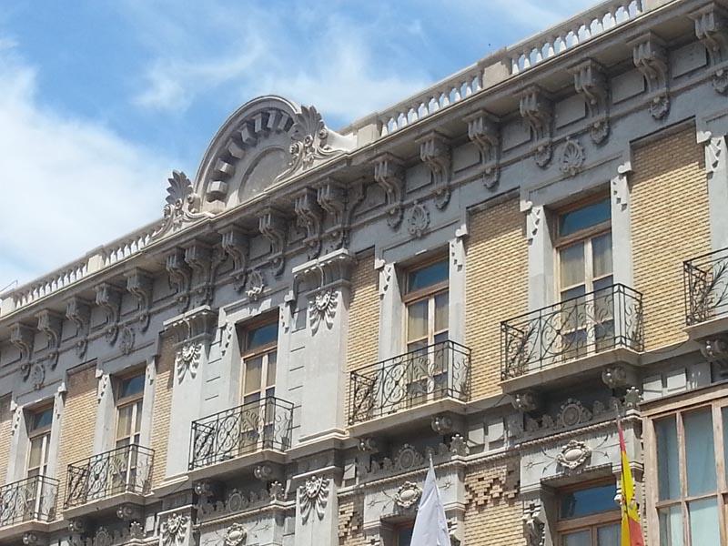 Modernismo en La Unión. Casa del Piñon