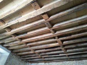 Análisis estructural de forjados del Palacio de El Capricho