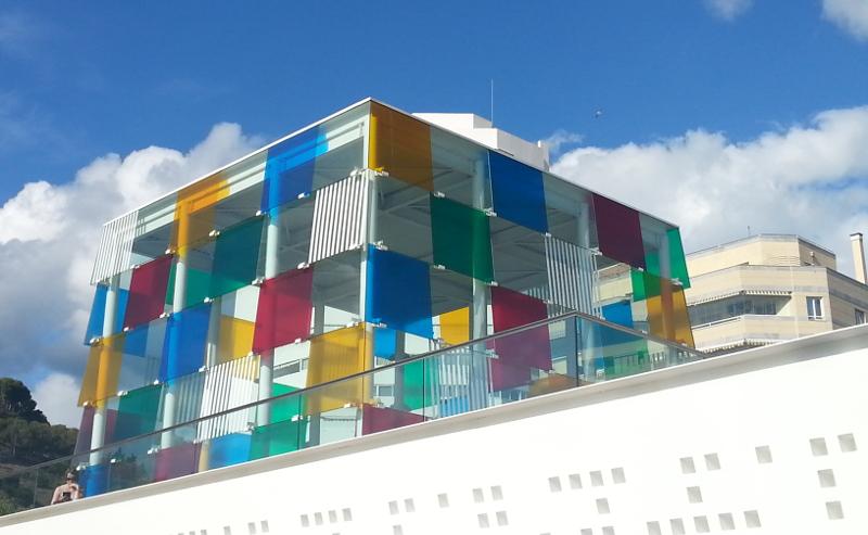 Centre Pompidou Málaga. La ciudad de los museos