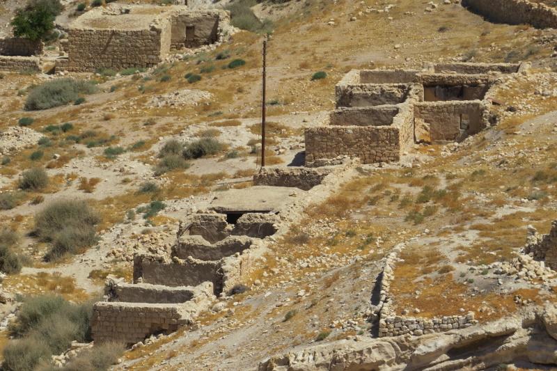 Arquitectura y construcción rural en Shobak, Jordania. E-struc