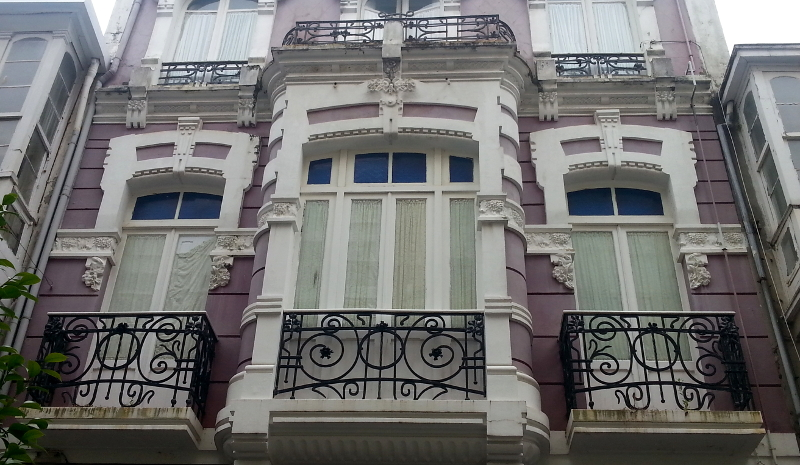 Modernismo en Ferrol. Rodolfo Ucha.