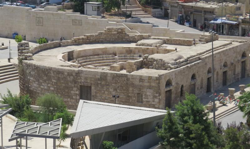 Rehabilitación del odeón de Amman. Una visión crítica. e-struc