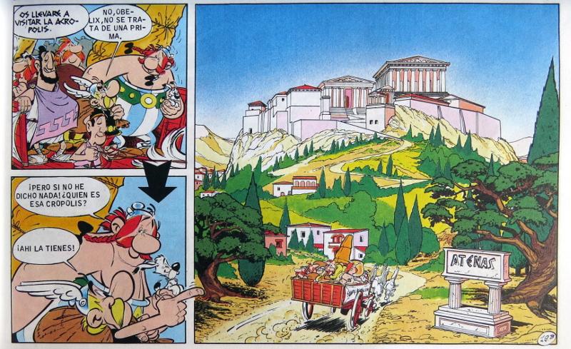 Arquitectura y Comic