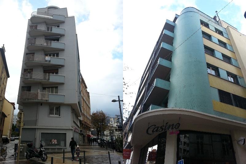 Arquitectura racionalista en Grenoble.