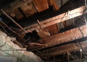 Rehabilitación de un edificio de estructura de madera