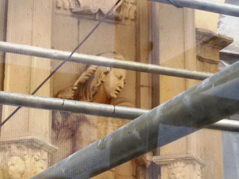 Rehabilitación de la fachada de la Universidad de Alcalá. E-struc