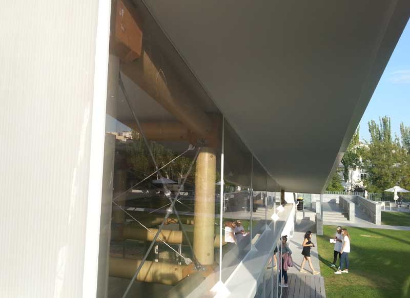 Pabellon de estructura de papel Shigeru Ban