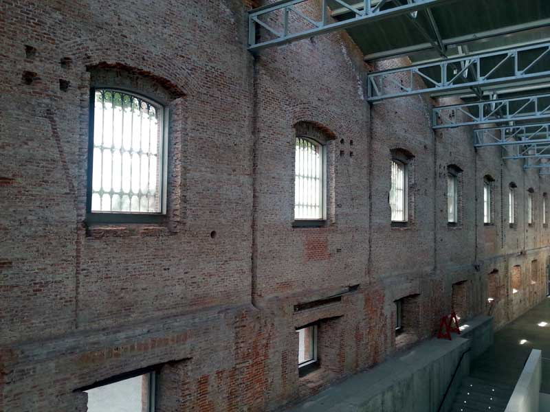 Rehabilitación de cuarteles para centro cultural