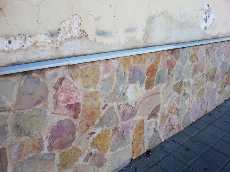 Capilaridad en muros de mampostería
