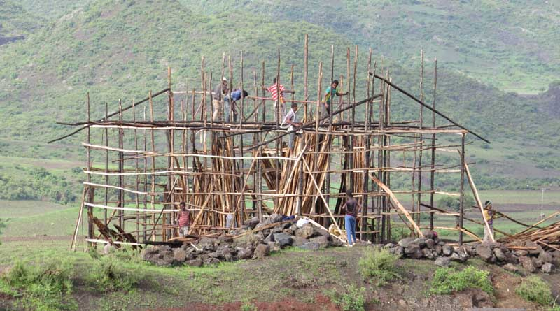 Industrialización de la construcción tradicional en el Norte de Etiopía.