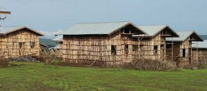 Construcción de viviendas en el Norte de Etiopía