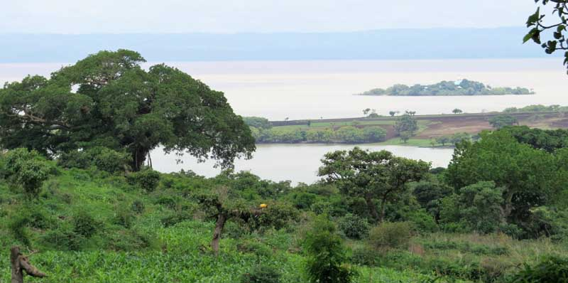 Construcciones etíopes de influencia portuguesa en el Lago Tana