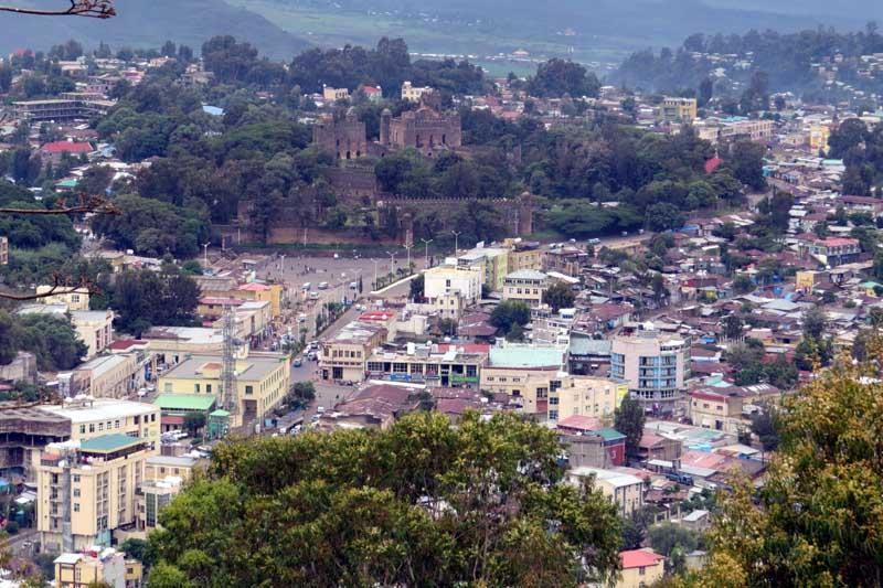 Arquitectura racionalista en el reino de saba. La ciudad de Gondar en Etiopía