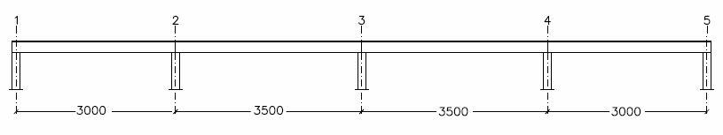 relación entre luz y dimensiones estructurales