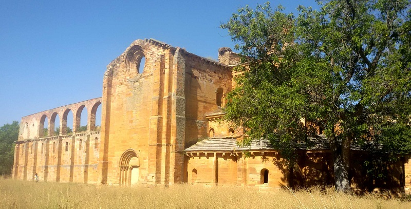 Ruinas controladas del Monasterio de Moreruela