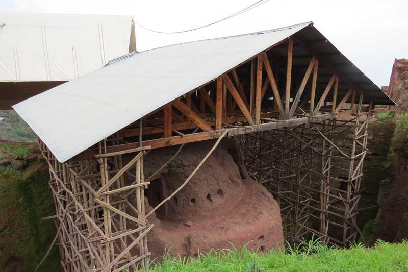 Iglesias talladas en la roca de lalibela, etiopía. Biete Lehem