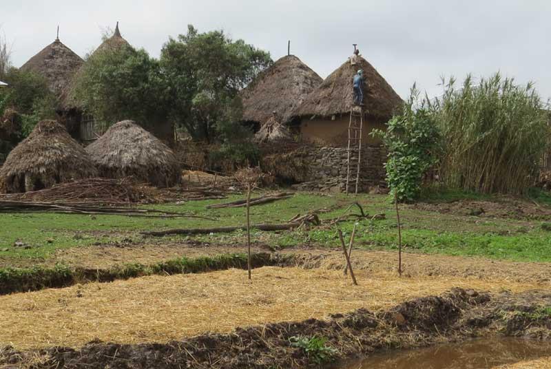 Construcciones Etiopía