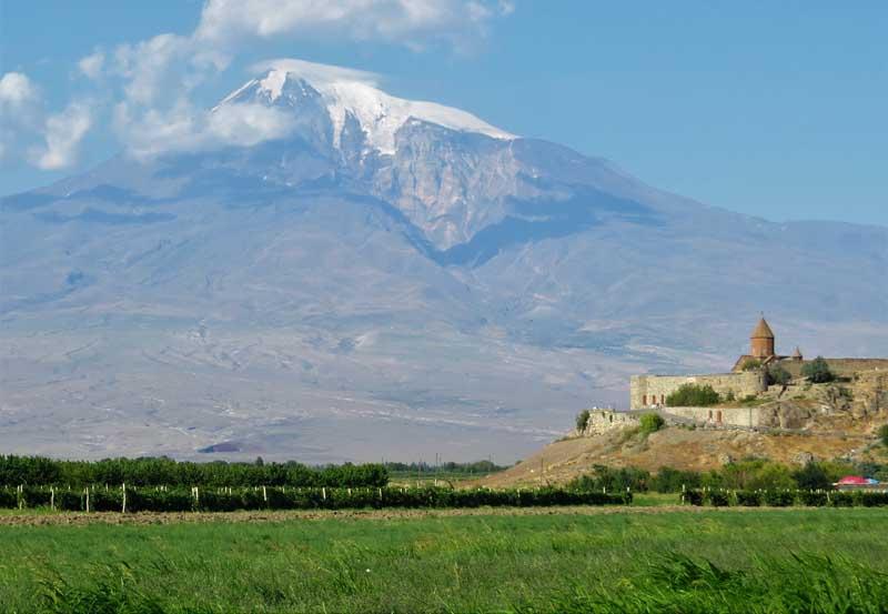 Monasterio Khor Virap, Armenia
