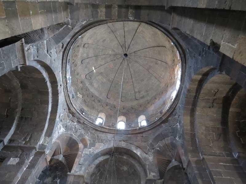 Cúpula del monasterio de Santa Hripsime, Armenia