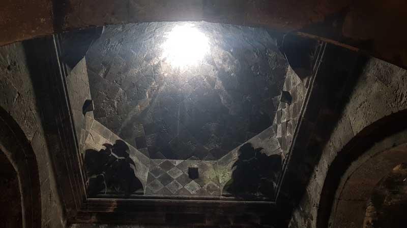 Cúpula del monasterio de Hayravank, Armenia