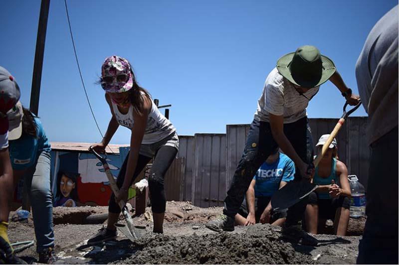 Vivienda social sustentable: Proyecto Sol de Polpaico de TECHO-Chile
