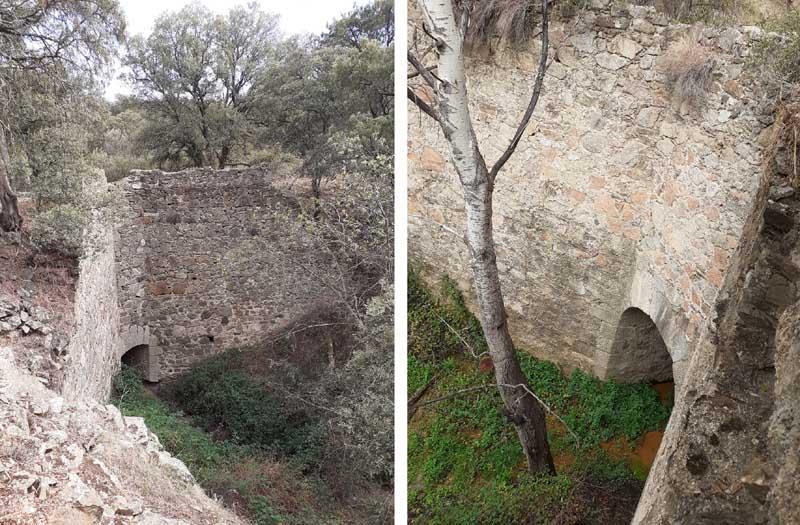 Presa de El Gasco, obras complementarias del canal