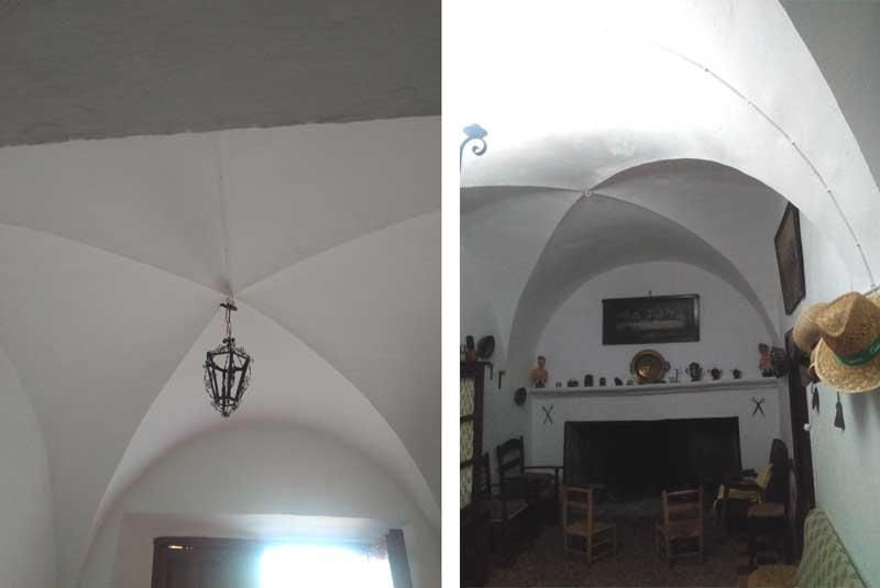 Comportamiento de las bóvedas de arista tradicionales