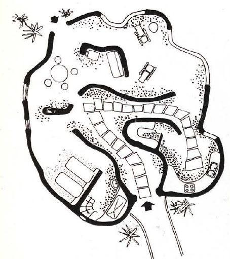 Casa Blocplanta reproducida en la revista Arquitectura 1964